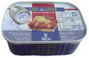 包裝:120g*12  成份: 鱈魚嫩肝  鱈魚油 食鹽  產地:冰島